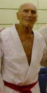 Helio Gracie cinturón rojo Jiu Jitsu