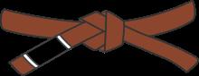 cinturón marrón Brazilian Jiu Jitsu